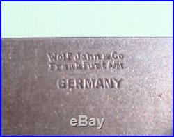 Watchmakers' lathe 3-way cross slide Wolf Jahn 8 mm