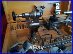 Watchmakers lathe BOLEY 8mm