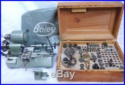 Watchmakers lathe, Boley F1 top quality German manufacture
