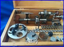 Watchmakers lathe G. Boley 8mm
