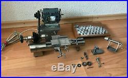 Wolf & Jahn HighEnd Watchmaker Lathe & accessories Lorch Boley