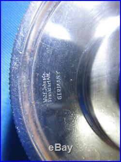 Wolf Jahn Lathe 6 Jaw Scroll Chuck Watchmakers Frankfurt Germany 8mm Fit Boley