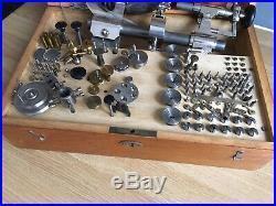 Wonderful Boley watchmakers lathe, Watches, Tools, Watch Repair, Pocket Watch